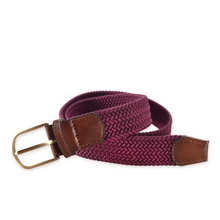 Design best selling jacquard snake buckle elastic belt
