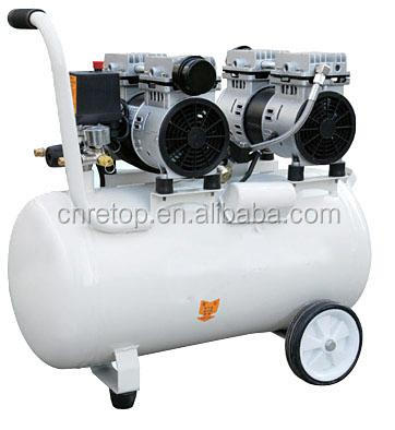 OF-600*2-70L 2 cylinder air compressor pump silent portable industrial air compressor weight