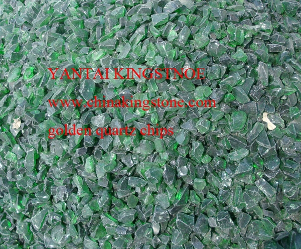 RECYCLING GREEN GLASS