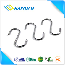 Stainless steel merchandise bulk large s hooks for clothes