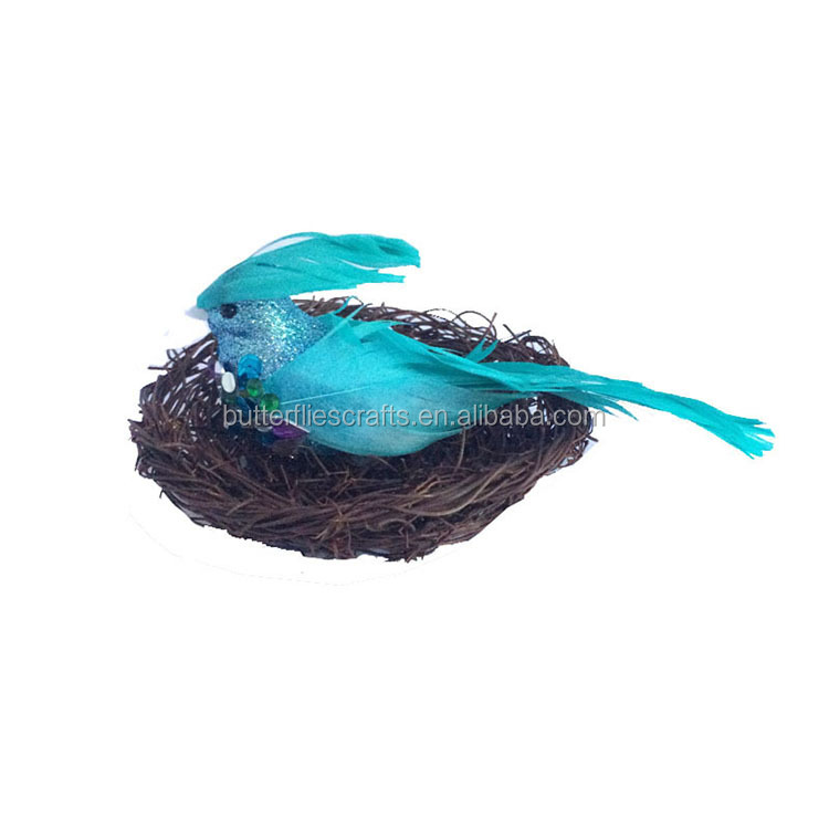 Artificial birds for wedding decorations and Christmas