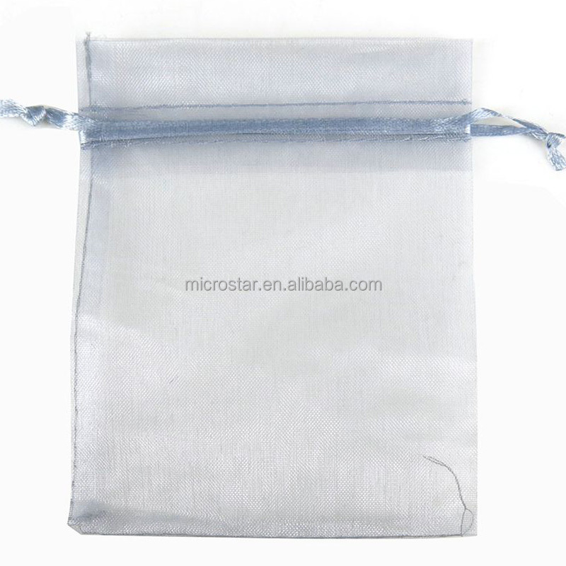 In Stock 7x9 cm Gift Pouch Cheap Drawstring Wholesale Organza Pouch
