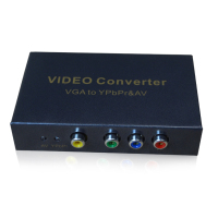 HighTek HK-VTAVY VGA to YPbPr/AV converter support 1080P/60Hz