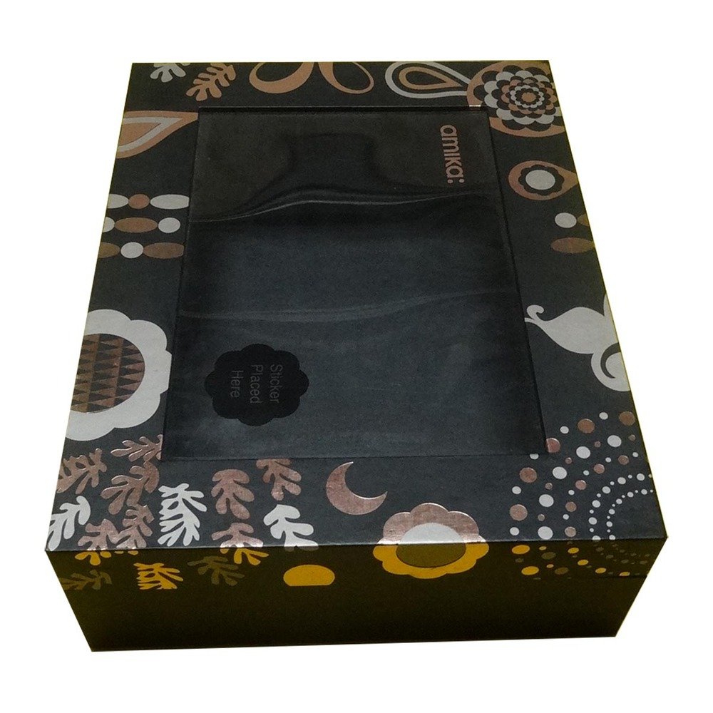 Christmas gift paper packaging candle box