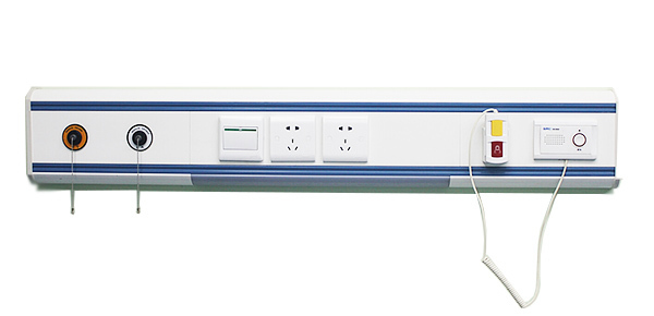 Best selling medical bed head unit/high quality hospital bed head unit