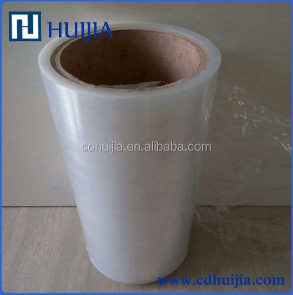 Soft Hardness and Casting Processing Type Strech Film Polyethylene Cling Film