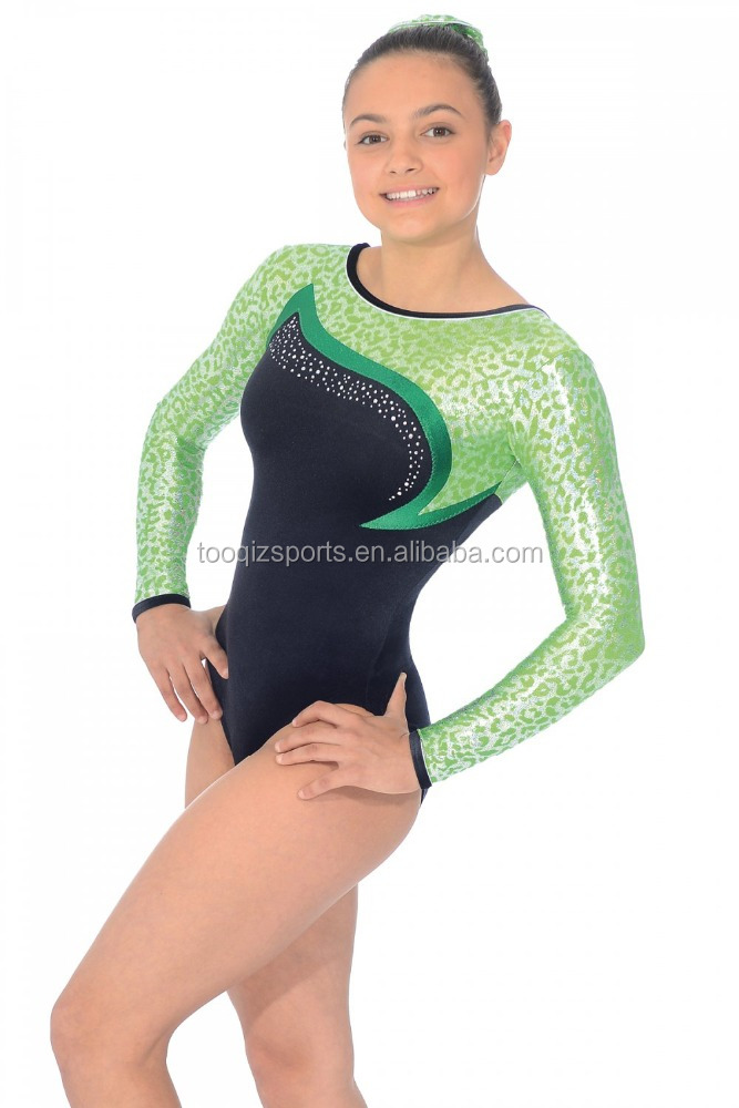 Wholesale Rhinestone gymnastics leotards for sale