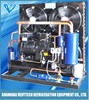 Horizontal shell and tube type semi-hermetic water cooled condensing unit