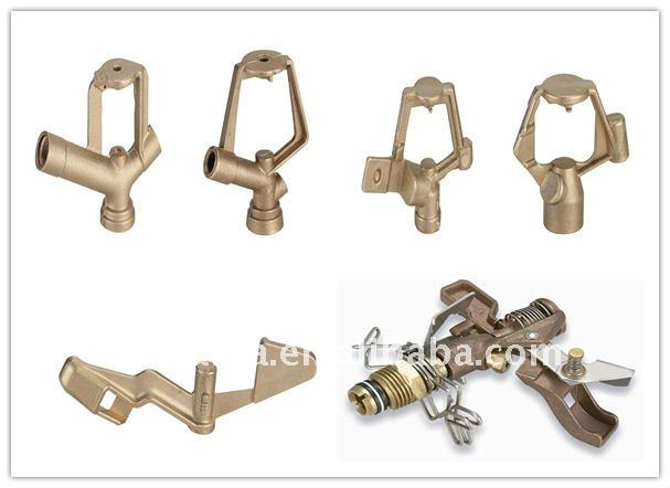 Brass sprayer head/garden sprinkler/brass die casting hardware