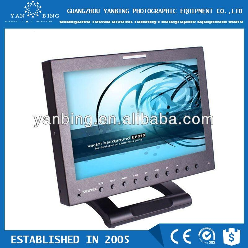 Seetec 12 inch professional broadcast HD 3G SDI monitor with high resolution 1280*800