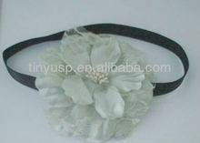 silk flower big flower beautiful head wrap