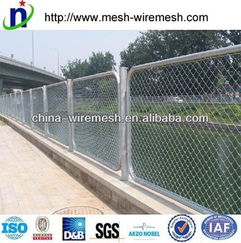 best seller chain link fence/diamond wire mesh fence/diamond fence