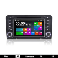 high quality touch screen MTK3360 car dvd player for Audi A3 2003-2011 car radio dvd gps navigation system DJ7047