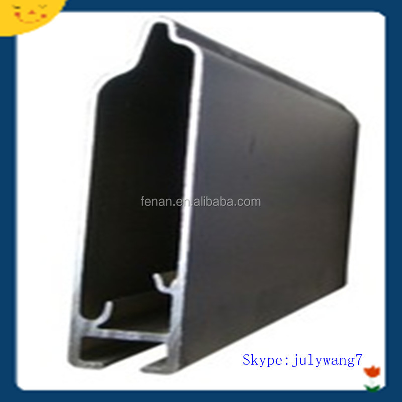 6063 alloy Aluminium extrusion profiles to Nigeria building structures made in China