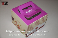 disposable cake box cake packaging box clear cake box