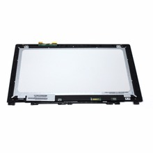 15.6'' Laptop LCD Touch Screen Glass+Bezel LP156WHU-TPB1 For Lenovo IdeaPad U530 20289 1366*768