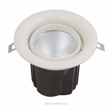2.5inch 8w 6w cob adjustable ceiling spotlight CRI90 recessed cob downlight no flicker led ceiling spot downlight