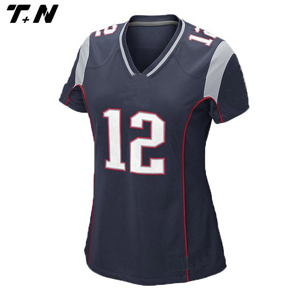 American College Football Jersey With 100% Heavyweight Polyester Mesh Body