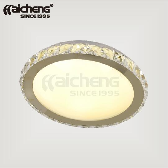 HOT Selling K9 crystal surface mounted led ceiling lighting
