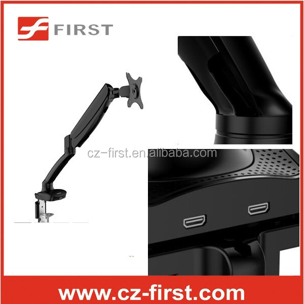 "10""-27"" Gas spring desktop monitor arm mount"