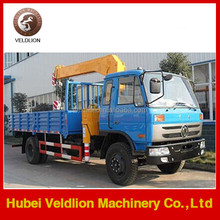 Factory sale 4x2 dongfeng used truck crane 5 ton