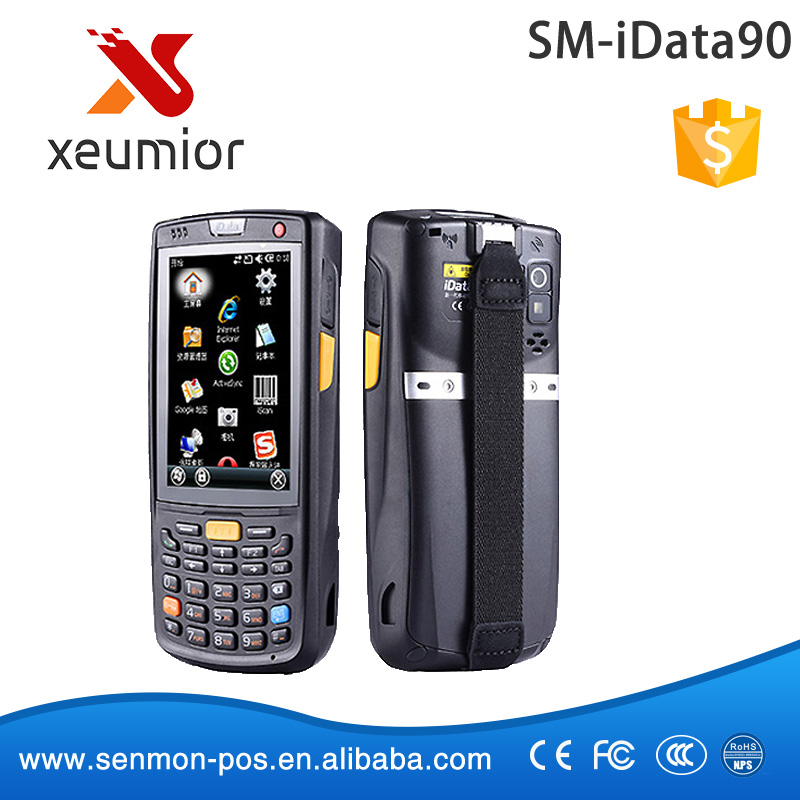 SM-iDATA90 Handheld Portable Windows Mobile PDA with 1D Laser Barcode Scanner