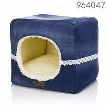 wholesale alibaba best selling products luxury fancy cute samll window hooded cat beds for small breed