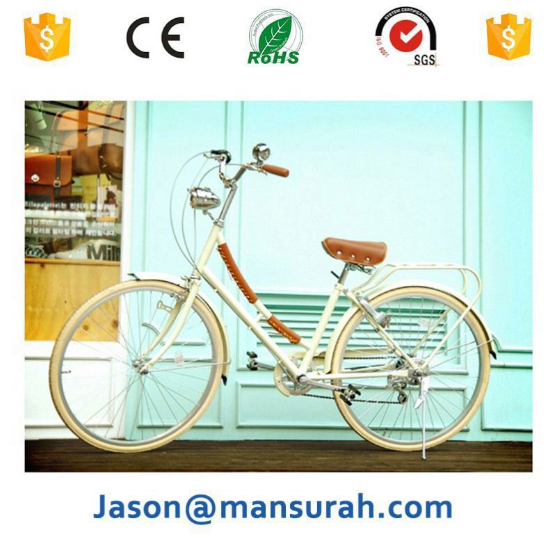 "New Arrial 26*16"" size inner 3 speed city bike/bicycle women bike lady bicycle china manufacturer"