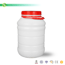 Low price latest design pe plastic bottle with lid for chu hou paste