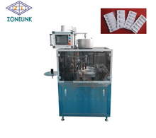 automatic U model pharmaceutical duck-mouth suppository thermoforming filling sealing machine