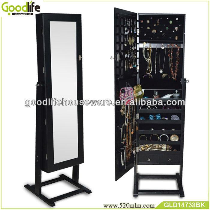 Miroir meubles coffret bijoux miroirs meubles en bois id for Meuble a bijoux ikea