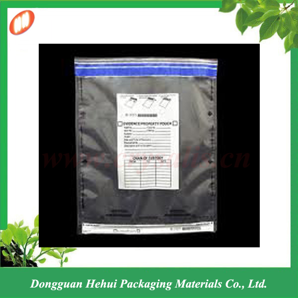 Hot sale tamper evident proof seal security bags