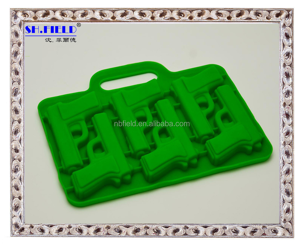 Animal shape silicone ice cube tray
