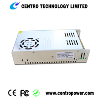 2016 best selling switch dc power supply for CCTV 360w 12v 30A Open Frame Power Supply with CE,UL approved