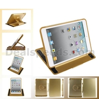 Detachable Style Rubber Coated PC+TPU 360 Rotating Case for iPad Air Detachable Cover