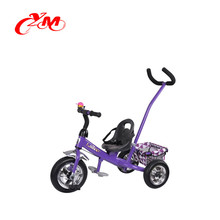 China supplier baby trike ride on toy car/online selling 3 tyre tricycle India market/push behind tricycle