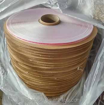 15mm self adhesive tape for plastic cosmetic bags opp pp bags in spool rolls
