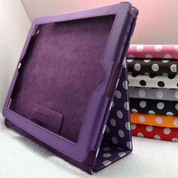 for ipad mini standing PU leather case