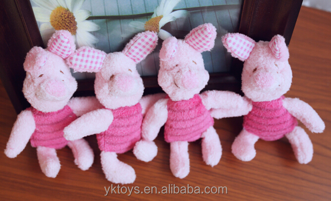 Cute Pig Plush Toys For kinds/Promotion toy cute pink plush custom toy pig stuffed animal