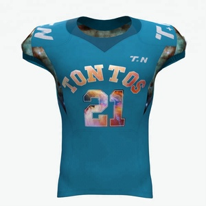 China Made Custom Sublimation Youth American Football Team Training Jersey