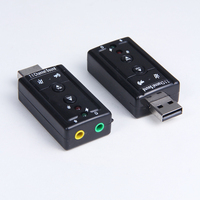 3D Sound card usb audio driver with 7.1 channel