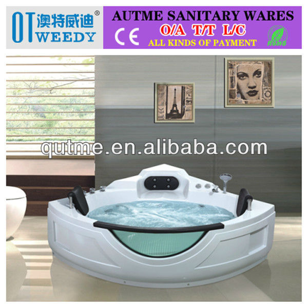 Autme hot style adult round indoor spa acrylic hot tub