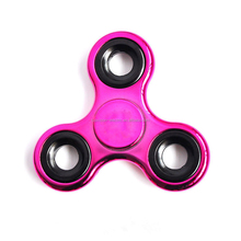 Hot selling flashing spinner anti stress fidjet spinner 608 bearing EDC hand spinner toy