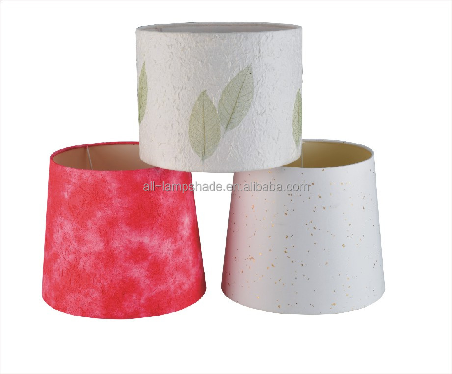 Fashion Style Table Drum Paper Lamp Shades Printing Lampshade Cover, Customized Size & Colors