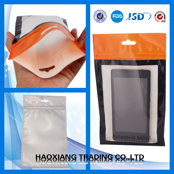 Mobile Phone Case Retail Packaging Package Bag for iPhone 4 4S 5 5S 6 Plus Samsung Plastic Zip Lock