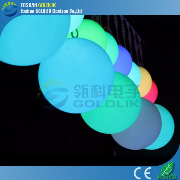 Rechargeable Outdoor Hanging Led Light Balls with 16 color changing
