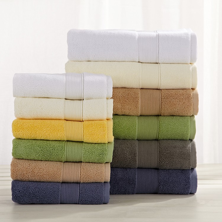 2016 High quality 100% cotton cut pile jacquard bath towel dobby bath towel cotton bath towel for wholesale