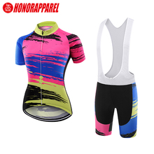 Sublimation printing sexy cycling wear clothing set,sport wear cycling,cycling clothing women