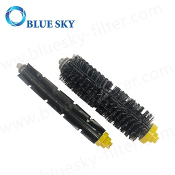Bristle Main Brush for Irobots Roombas 500 & 600 Series Robot Vacuum Cleaner Accessories Replacement Parts