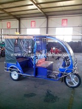 High quality open body electric tricycle/tuk tuk for sale